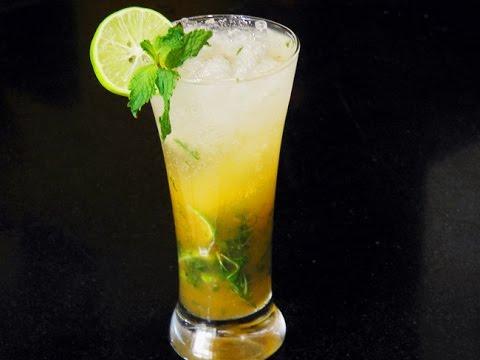 Mango Mojito Recipe - Easy Summer Drink | MadhurasRecipe