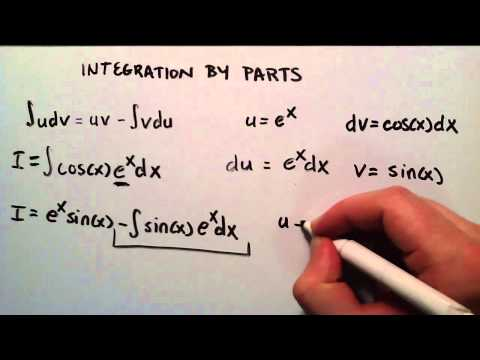 Integration by Parts ( Example 2 )