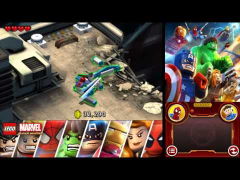 LEGO Marvel Super Heroes: Universe in Peril 100% Freeplay Guide - Chapter 2 - Baxter Building