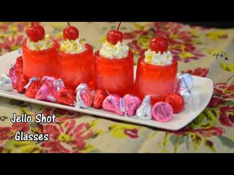 Jello shot glasses | Gelatin Shot Glasses Recipe | How to make Jello shot glasses