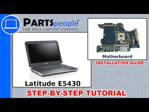 Dell Latitude E5430 (P27G-001) Motherboard How-To Video Tutorial