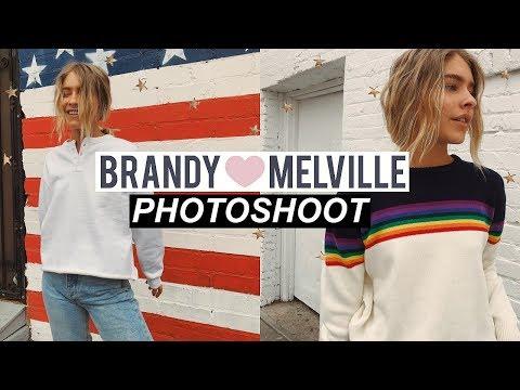 Brandy Melville Photoshoot 2018 | Marla Catherine
