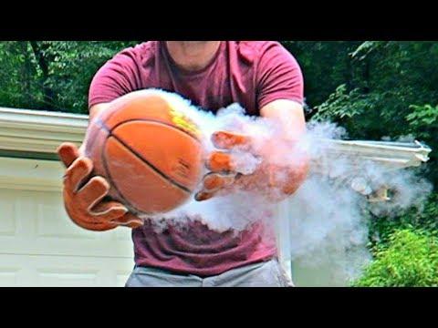 Don't Put Basketball in Liquid Nitrogen