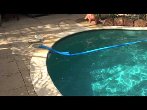 Tip 1 - How to prime your pool hose for vacuuming