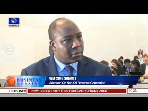 WEF 2016: Kemi Adeosun On Non Oil Revenue Generation 25/01/16