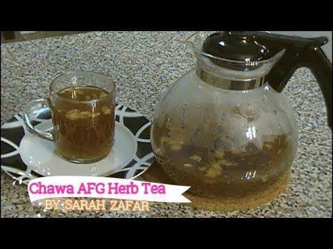 Chawa (Afghan herb tea)