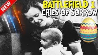 ►battlefield 1 -  Mother & Baby Crying Easter Egg - Battlefield 1 Prise De Tahure |🎮 Battlefield Hq