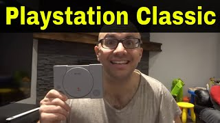 Sony Playstation Classic Review-Mini Original Playstation Console