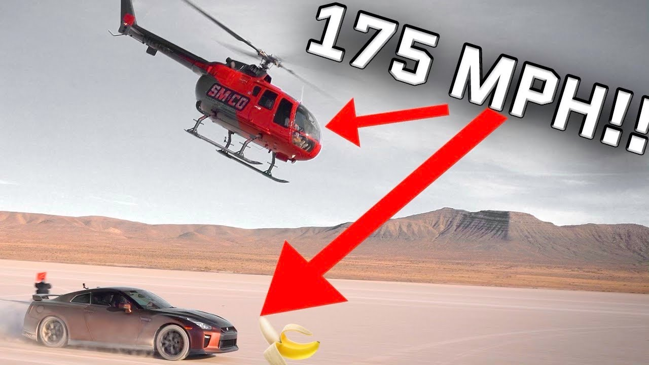 Helicopter Punishes Stradman's Supercar