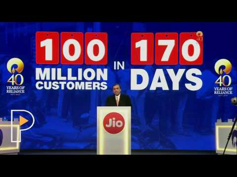Mukesh Ambani Full Speech at Reliance Industries 40th AGM July 2017
