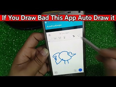 If You Draw Bad this App auto Draw It