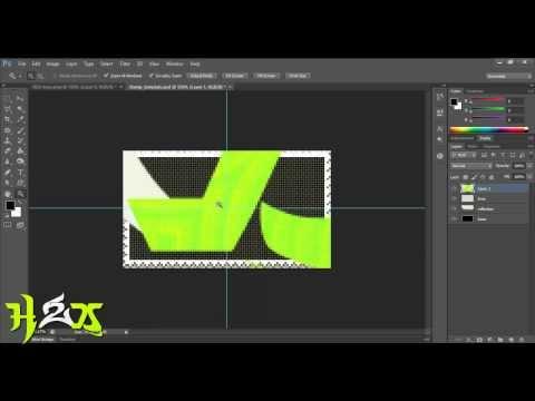Photoshop Tutorial # make a deviantart stamp (Animated)