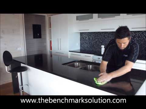 how to clean your benchtop www.thebenchmarksolution.com