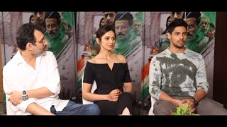 "Neeraj Pandey: ""Aiyaary Is CLOSEST To My First Film 'A Wednesday'  Sidharth Malhotra   Rakul Preet"