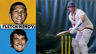 Fletch & Hindy | Safe to say Fletch CAN'T play cricket