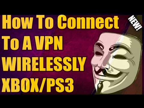 How To Connect A VPN To Your XBOX/ PS3! *WIRELESS (NO ETHERNET CORD REQUIRED!)