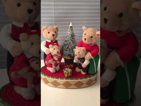 Avon singing Christmas animated Bears