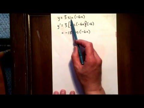11 trig derivative