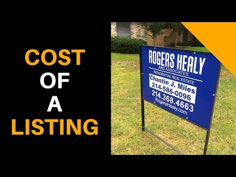 How Much Listings Cost To Sell
