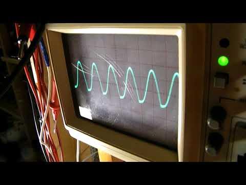 Sine wave oscillator on 6.8 KHz & how to develop 1 transistor sine wave oscillators (300 Hz-25 KHz)