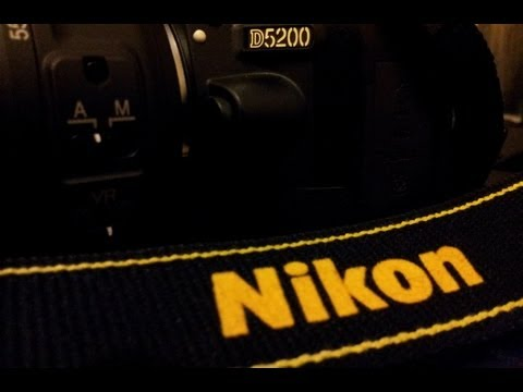 Nikon D5200 Unboxing and Quick Demo