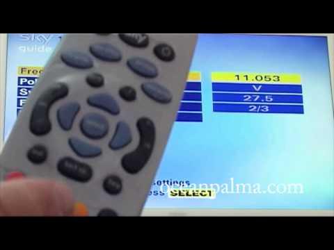 (old version) Get back ITV1 on Standard sky box