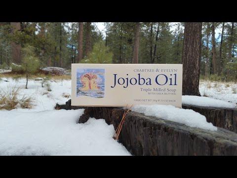 Crabtree & Evelyn Jojoba oil shea butter triple milled soap