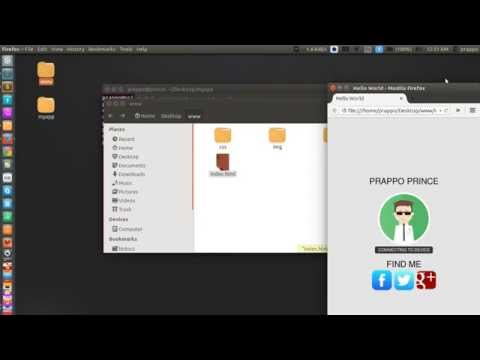 Intro tutorial , how to make android app using html , css , javascript