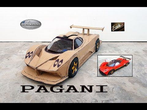 Amazing RC PAGANI ZONDA R || How to make Cardboard Pagani car || DIY  || Electric toy car
