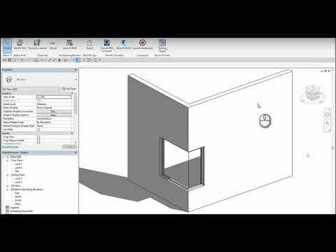 Revit : L corner Window Creation