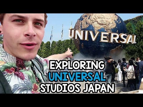 Exploring Universal Studios Japan | Day One Part Two