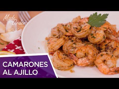 Camarones al Ajillo | Garlic Shrimp Recipe | Seafood Recipes | Made To Order | Chef Zee Cooks