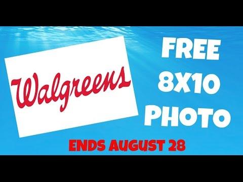 Free Walgreens 8X10 Photo