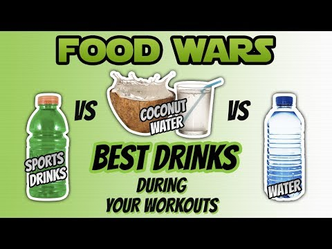 Sport Drinks vs Water vs Coconut Water (BEST DRINK DURING YOUR WORKOUT)
