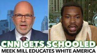 Meek Mill Schools CNN Host With Black American Reality