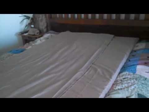 HOW TO SEW A COVER FOR A MEMORY FOAM PAD