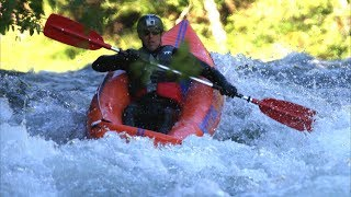 My 2008 White Water Rafting Trip - Falling In The Rapids
