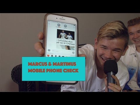 Marcus & Martinus - Mobile Phone Check | Bubble Gum TV