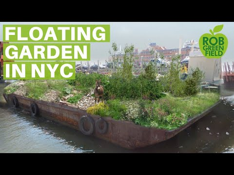 Swale, The Floating Garden in New York City