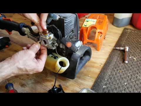Fuel Leak Fix with New Fuel Lines, Grommets, Filter Replacement for Stihl lawn equipment