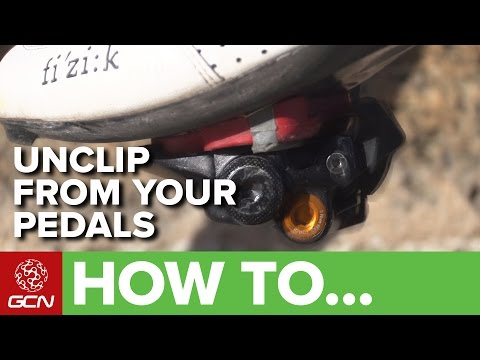 How To Unclip - Avoid A Clipless Pedal Disaster!