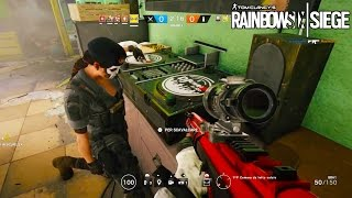 Rainbow Six Siege - Random Moments #20 (Hilarious Glitches, DJ Soldier?!)