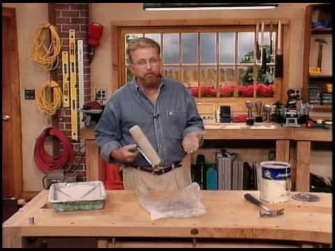 Painting Tips: How to Keep a Paint Can Rim Clean & How to Keep a Roller from Drying Out