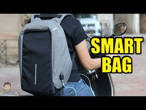 University Trendz ANTI THEFT USB CONNECTOR LAPTOP SMART BAG