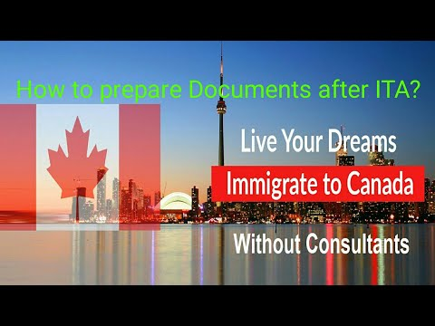 Free Guide Canada Immigration how to prepare Documents after receiving ITA