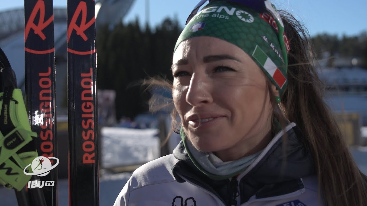 """#HOL19 Wierer: """"I did not know I could still win the pursuit globe"""""""