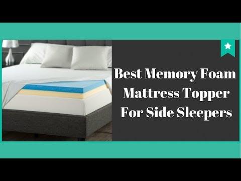 Best Memory Foam Mattress Topper For Side Sleepers - Top 3 Best Mattress Topper 2018