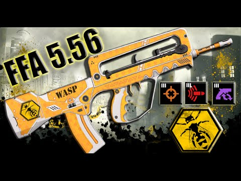 APB Reloaded WASP Gameplay - FFA 5.56 R&D III + FR0G 'Kokoe'
