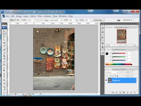 Ultimate Ebook Creator - Crop Image while preserving Aspect Ratio Part 1 - Using Photoshop
