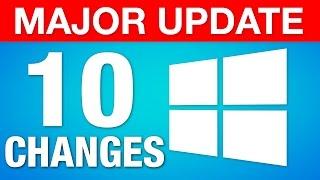 """Windows 10 Major """"Creators Update"""" - 10 Best New Features!"""